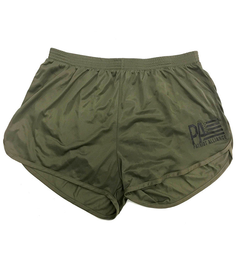 PA Logo Silkies, OD Green