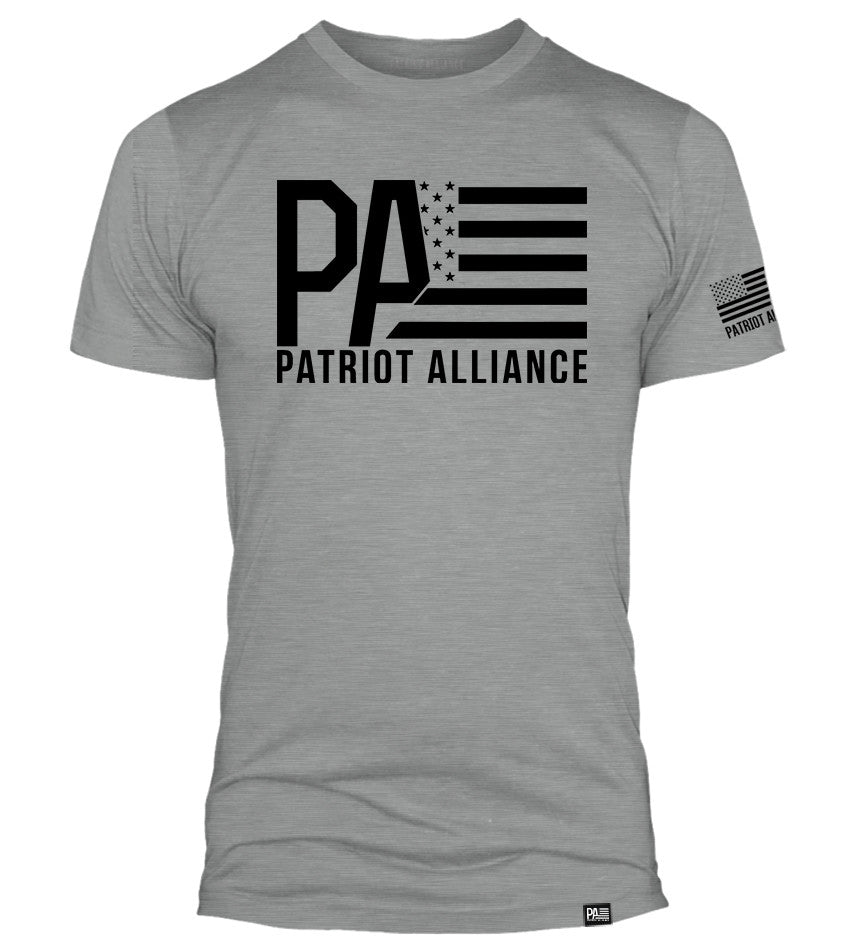 PA Logo, Dark Heather