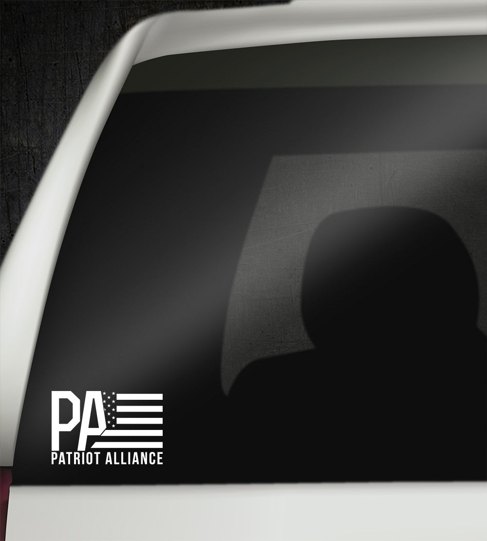 Patriot Alliance Vinyl Decal - 6""