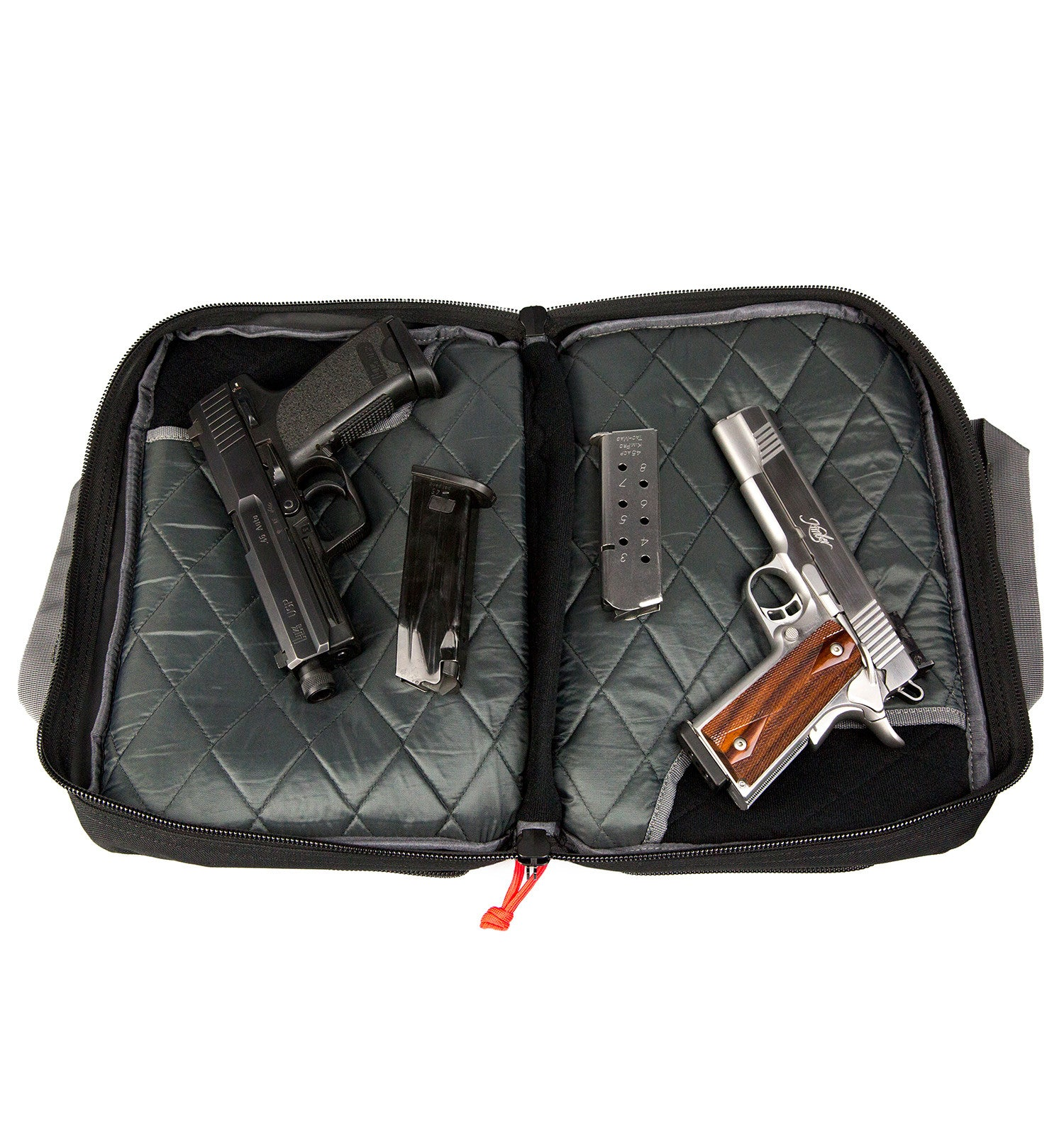 Quad Pistol Range Bag, Black