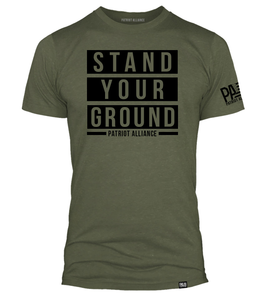 Stand Your Ground, Military Green