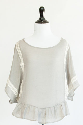 bell sleeve blouse - ELEVALE