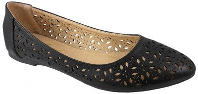 betty flats - black | ELEVALE