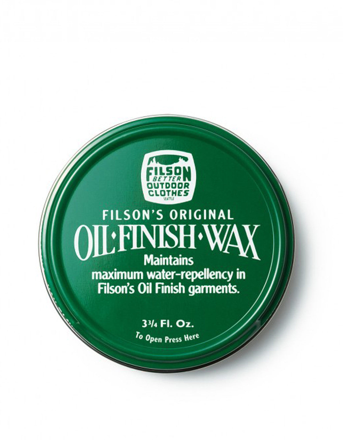 Filson Oil Finish Wax - Still Life