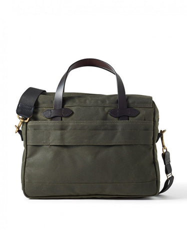 Filson 24 Hour Tin Briefcase Otter Green - Still Life - 2