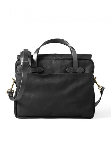 Filson Original Twill Briefcase Black - Still Life - 2