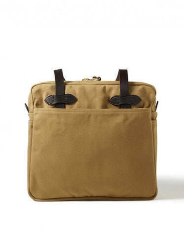 Filson Zippered Tote Tan - Still Life - 2