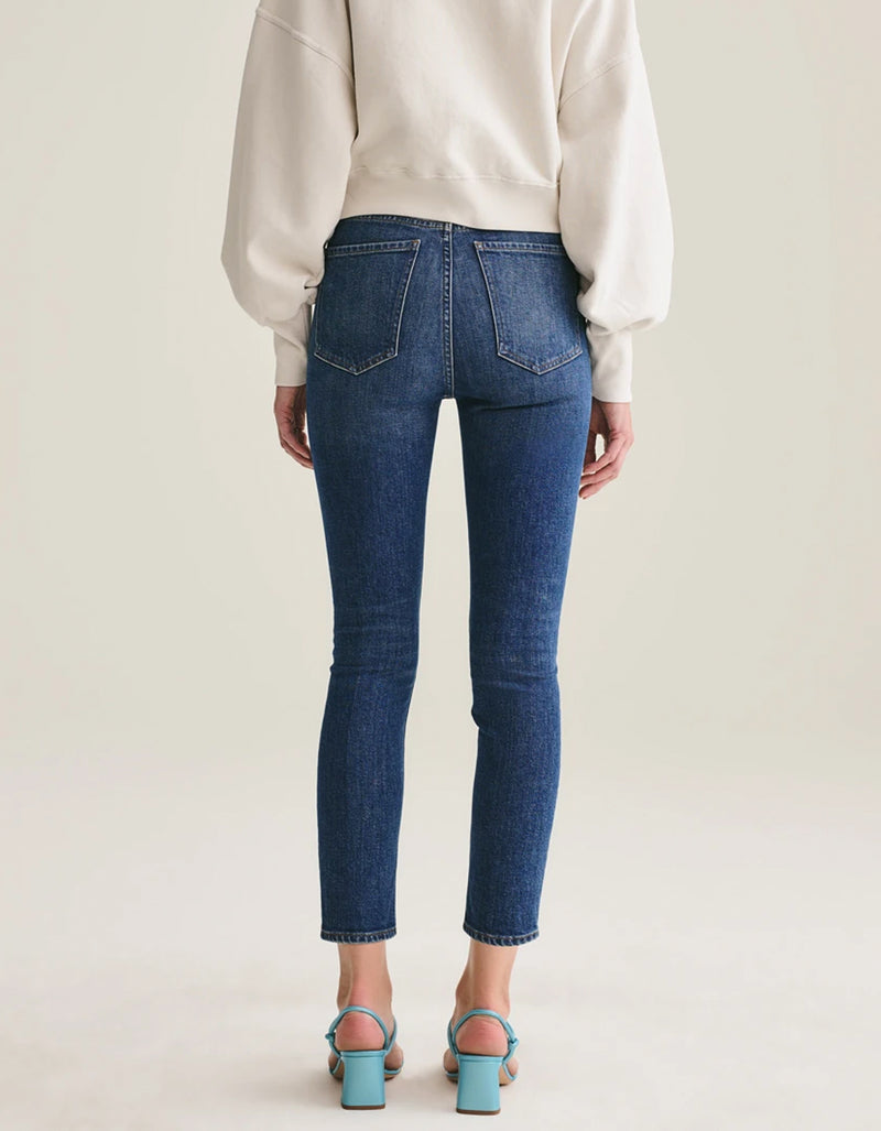 AGOLDE Nico High Rise Slim Jean Fixation