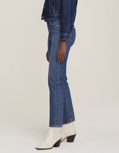 AGOLDE Wilder Mid Rise Straight Jean, Hype