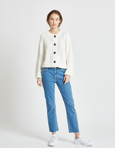 Minimum Affie Jumper Broken White