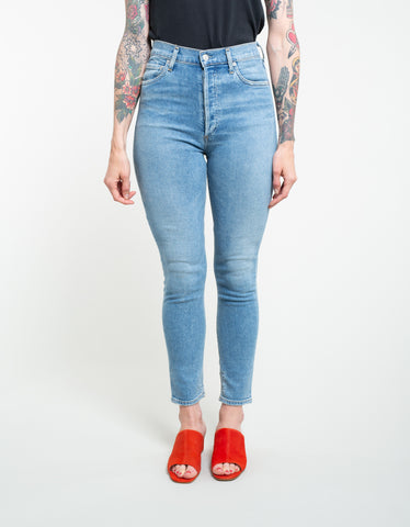 AGOLDE Nico High Rise Slim Jean Embark