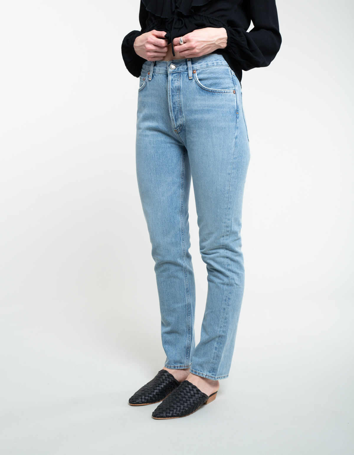 AGOLDE Remy Hi Rise Straight Jean Signal