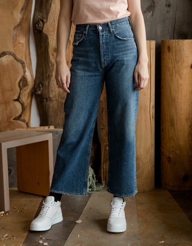AGOLDE Ren High Waist Wide Leg Jean Censor