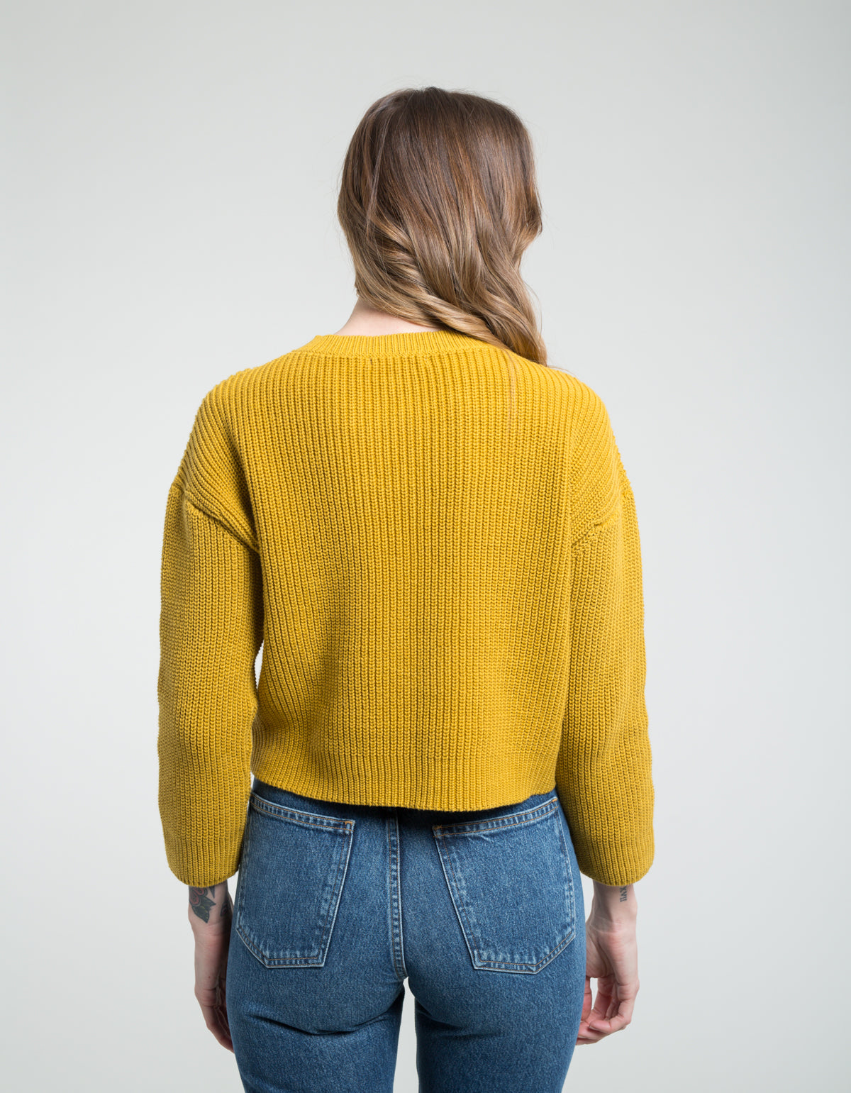 Ali Golden Cotton Pullover Sunflower