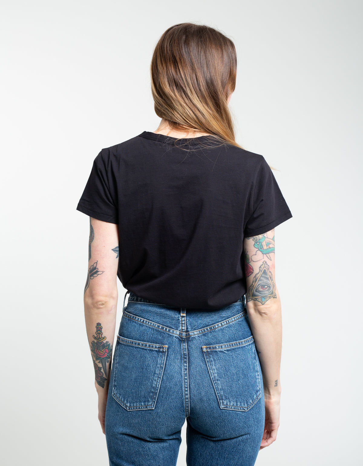 Assembly Label Classic Tee Black