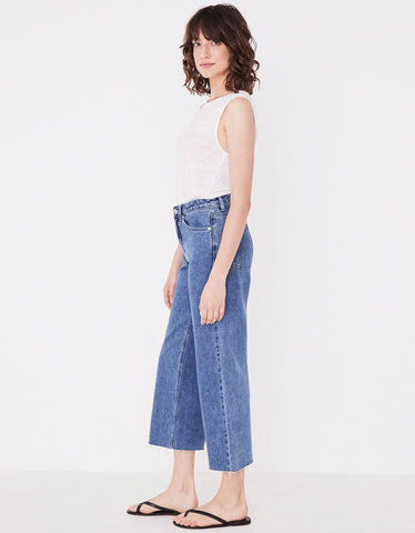 Assembly Label High Waist Flare Jean Vintage Blue