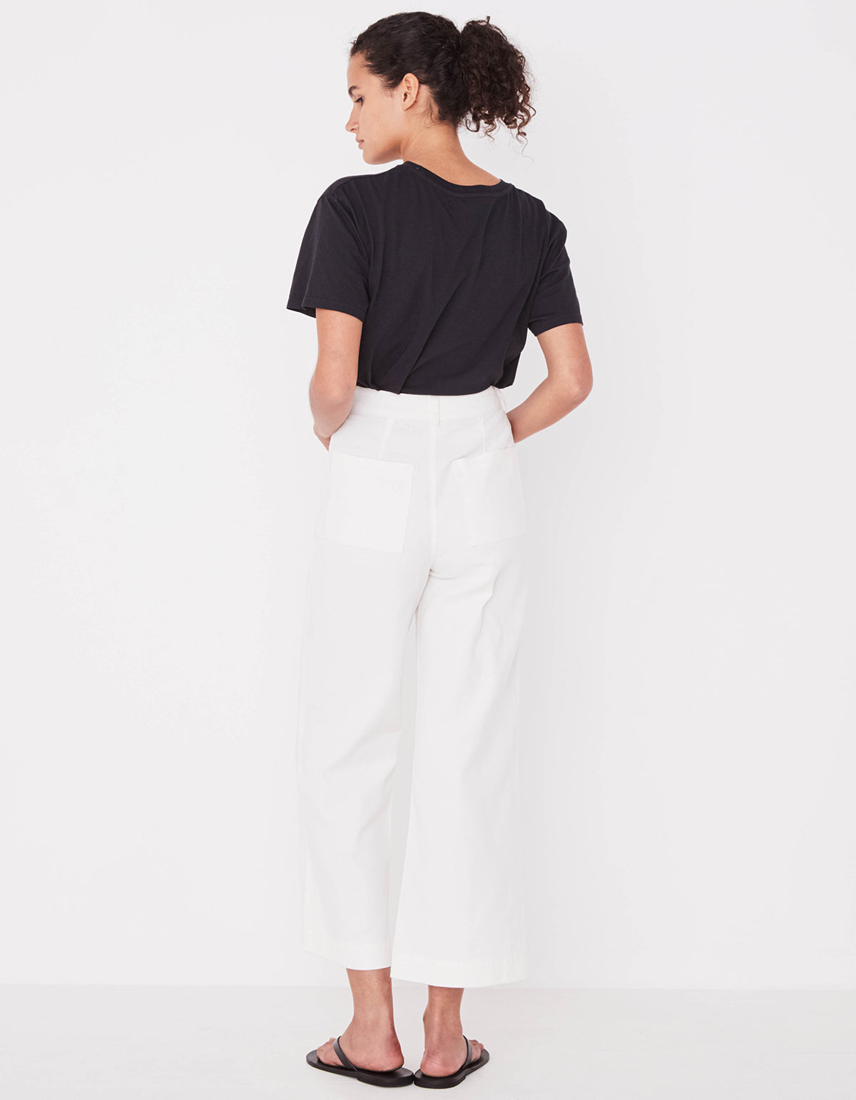 Assembly Label Tala Canvas Pant Vintage White