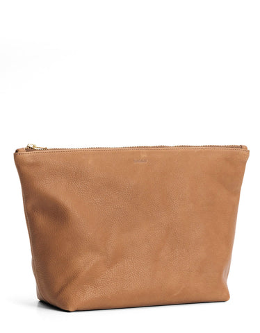 Baggu Large Stash Clutch Saddle - Still Life - 1