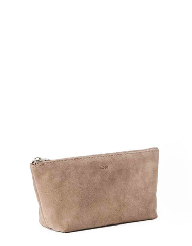 Baggu Small Cosmetic Pouch Dune Suede