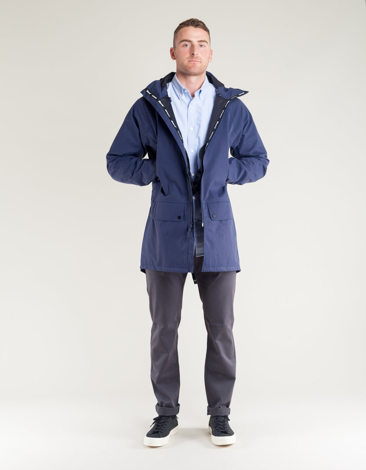 Baro Brockton 3L Jacket Navy