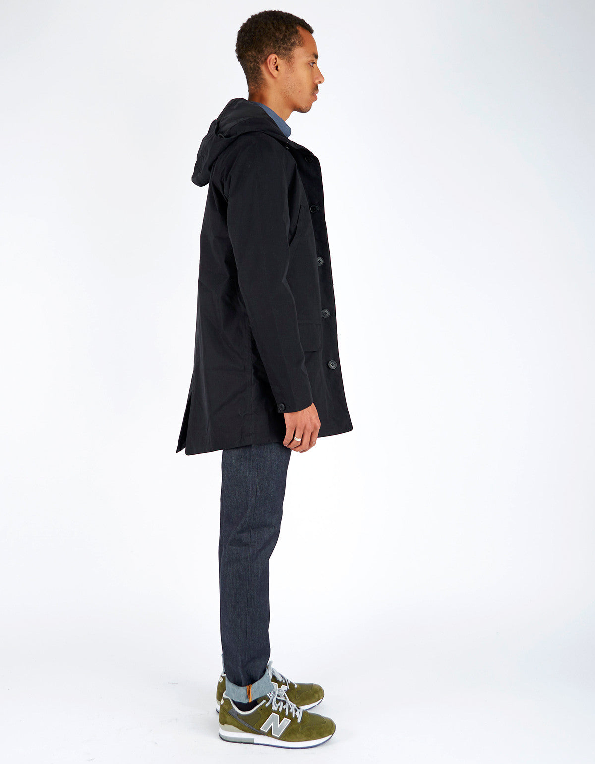 Baro Brockton Jacket Black - Still Life - 4