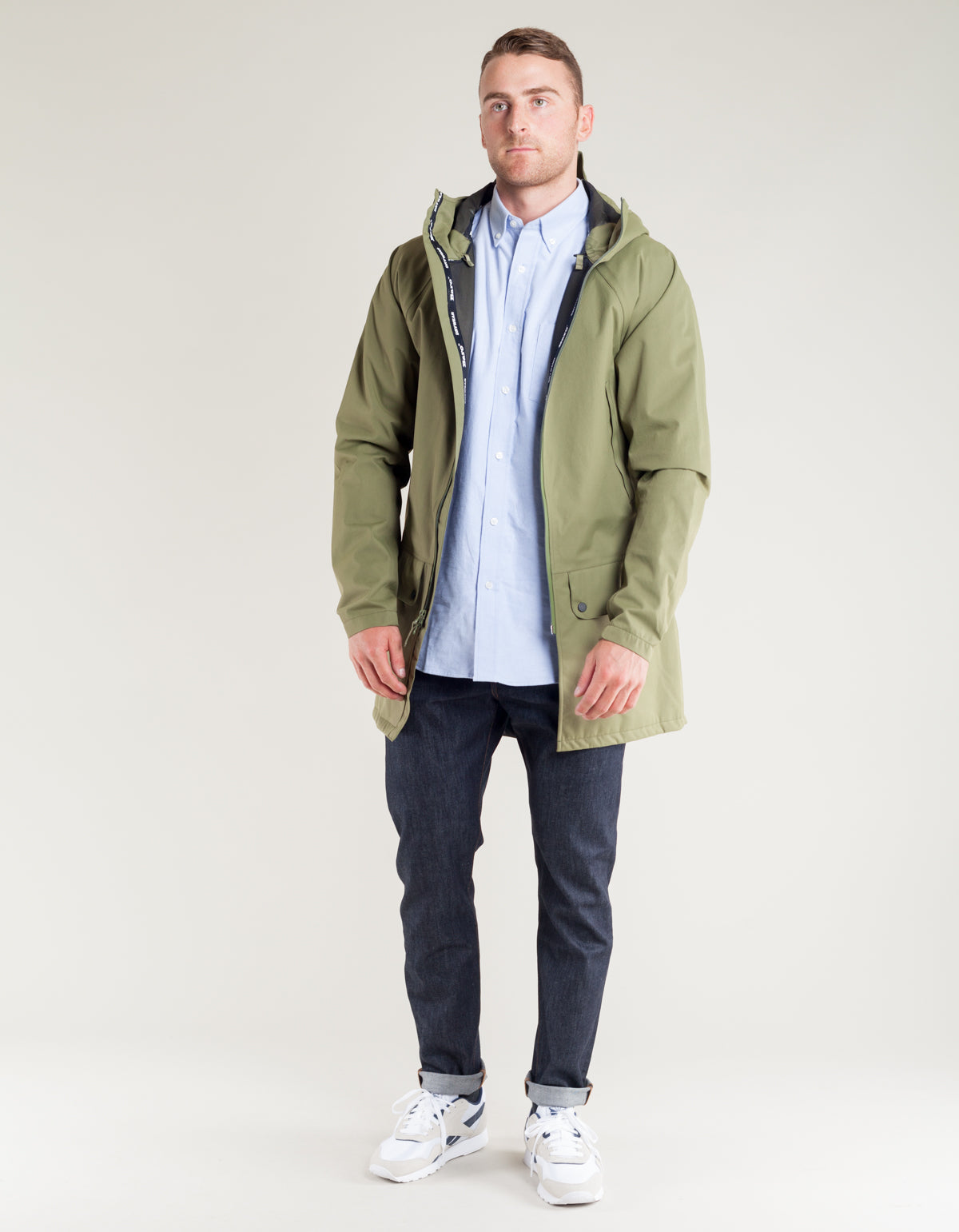 Baro Brockton 3L Jacket Loden Green