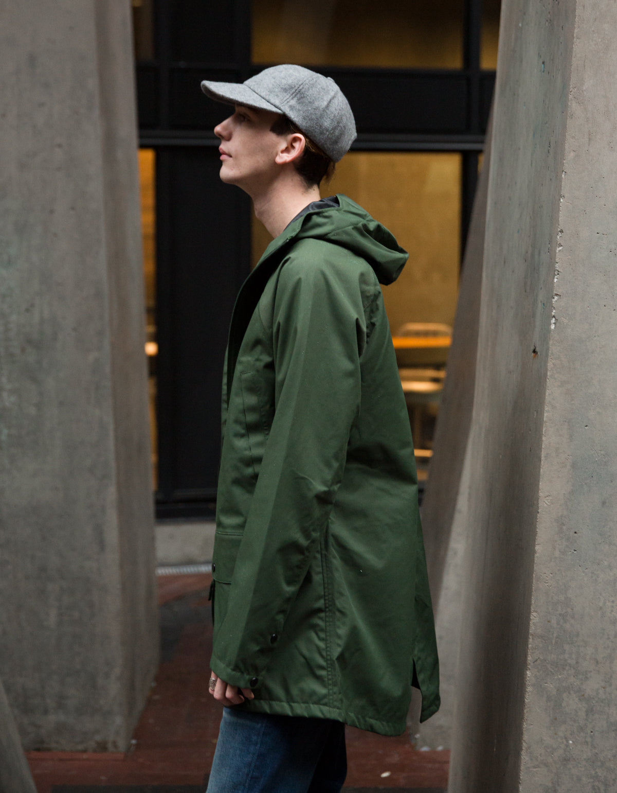 Baro Brockton 3L Jacket Dark Fern