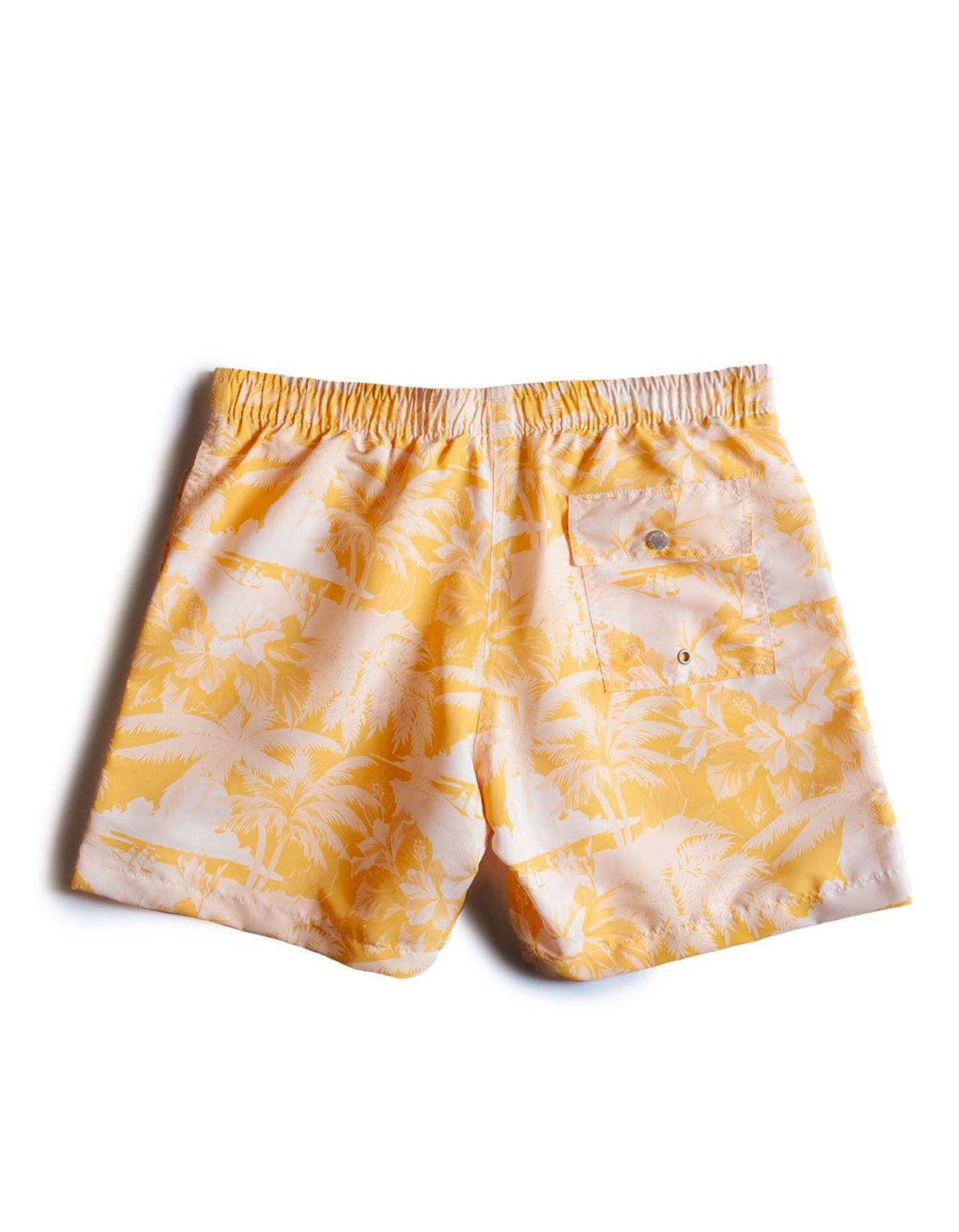 Bather Aloha Printed Trunk Yellow