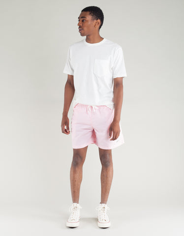 Bather Solid Swim Trunk Pink