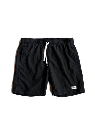 Bather Solid Trunk Black