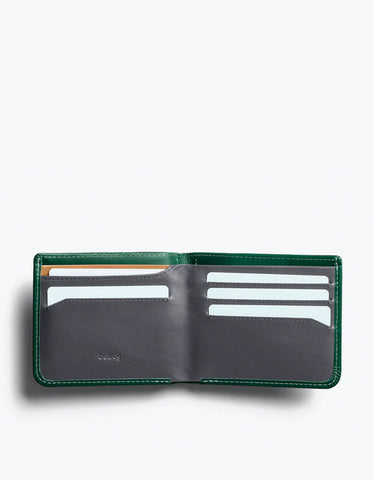 Bellroy Hide and Seek Wallet RFID Racing Green