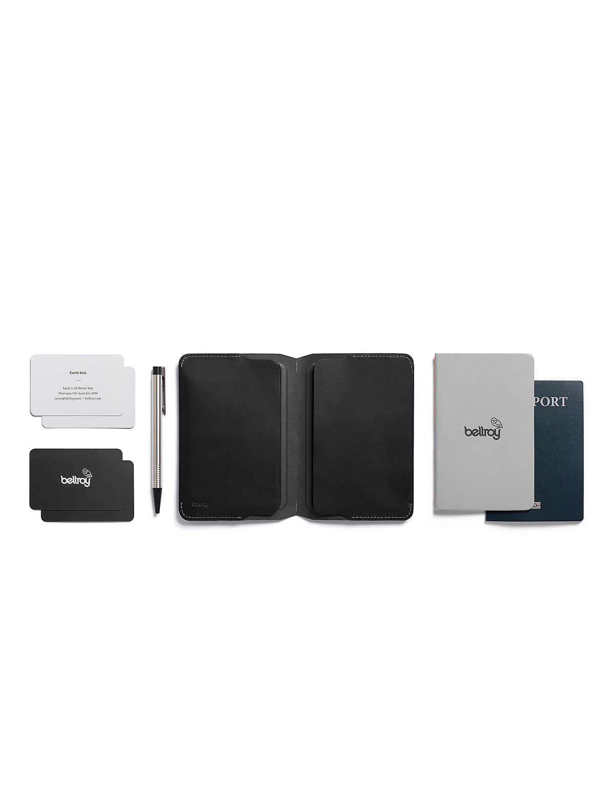 Bellroy Notebook Cover Black