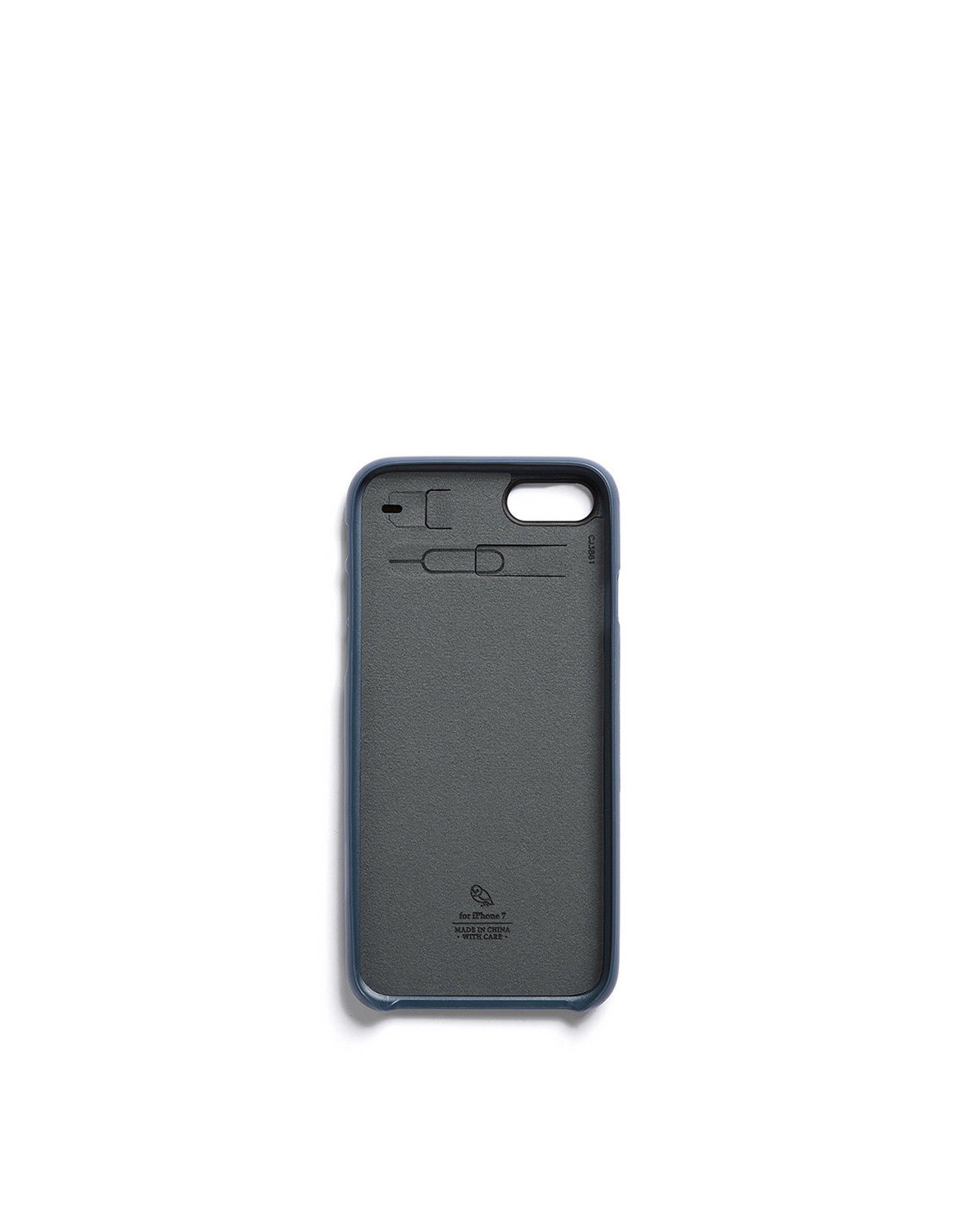 Bellroy Phone Case i7 1 Card Blue Steel - Still Life - 1