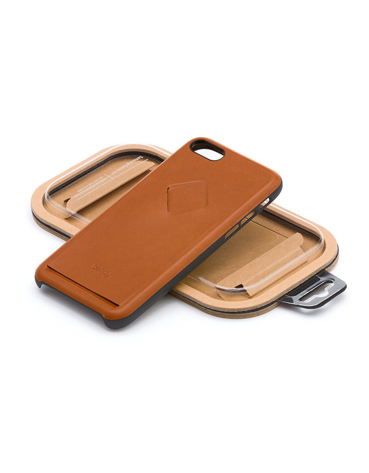 Bellroy Phone Case i7 1 Card Caramel - Still Life - 4