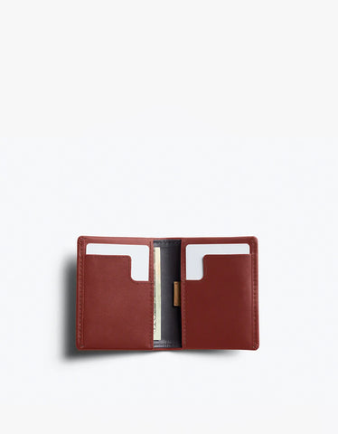 Bellroy Slim Sleeve Wallet Red Earth