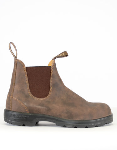 Blundstone Women's 585 Round Toe Boots Rustic Brown - Still Life - 1