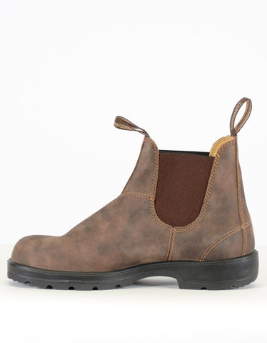Blundstone Women's 585 Round Toe Boots Rustic Brown - Still Life - 2