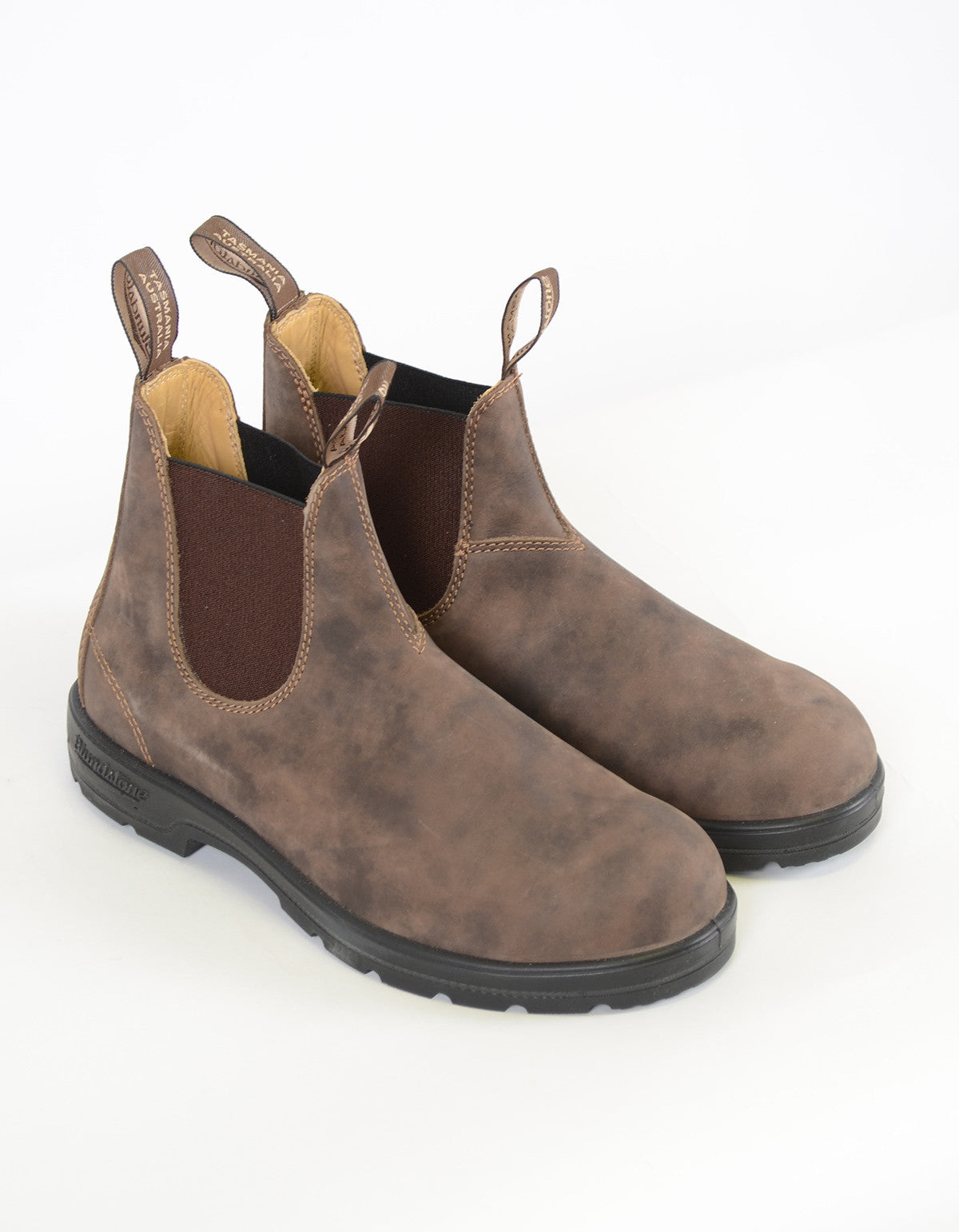 Blundstone Women's 585 Round Toe Boots Rustic Brown - Still Life - 3