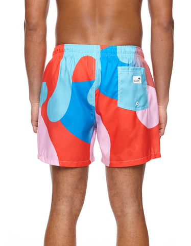 Boardies Mid Length Swim Shorts, Lois Ohara Wave