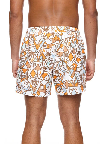 Boardies Mid Length Swim Shorts Pendleton Owl