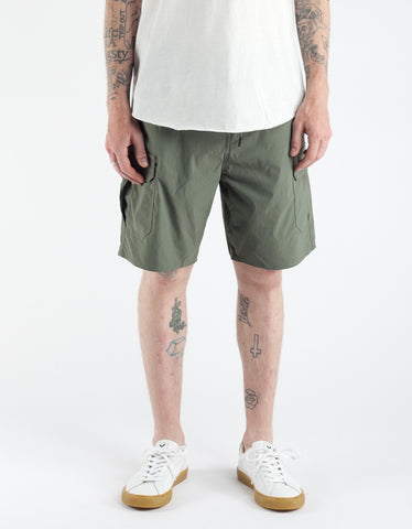 Brixton Transport Cargo Short Dark Sage