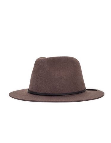 Brixton Wesley Fedora Brown Brown - Still Life