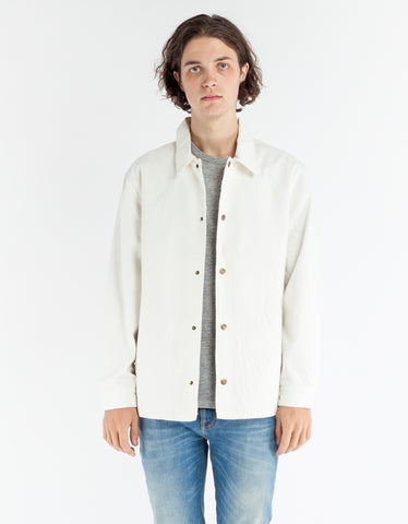 Brixton Wright Jacket Off White