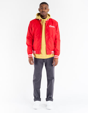 Brixton x Coors Signature Jacket Red White
