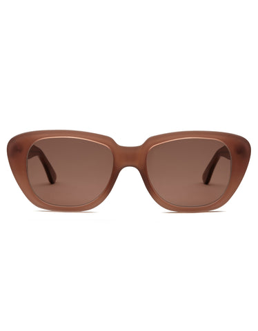 Carla Colour x A Detacher Gloria Sunglasses Mink