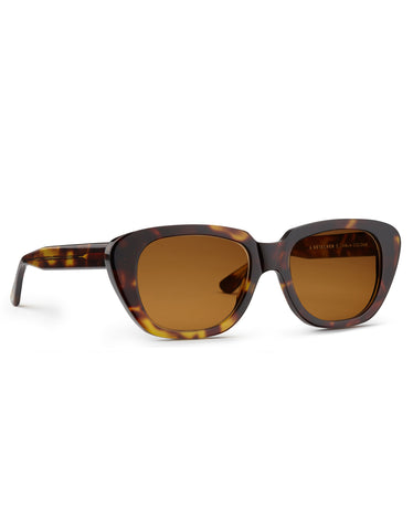 Carla Colour x A Detacher Gloria Sunglasses Tortoise