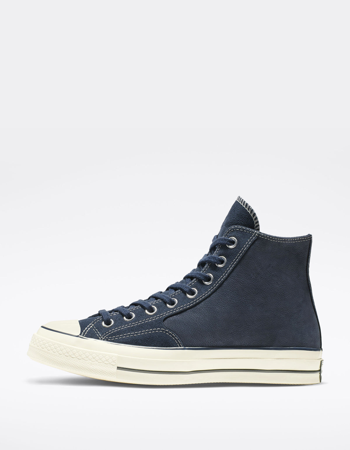 Converse Chuck 70 Leather High Top Obsidian Egret Black