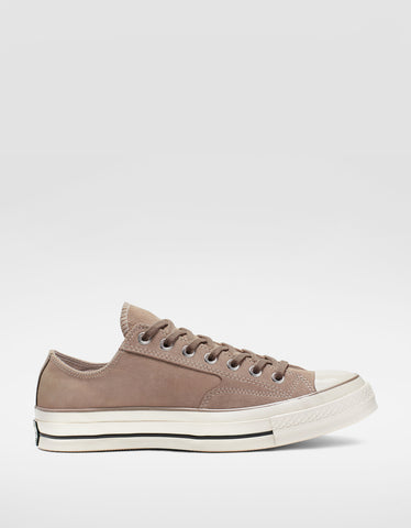 Converse Chuck 70 Leather Low Top Hummus Egret Black