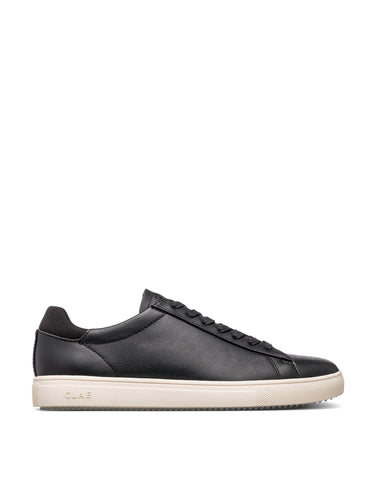 Clae Bradley Black Milled Leather