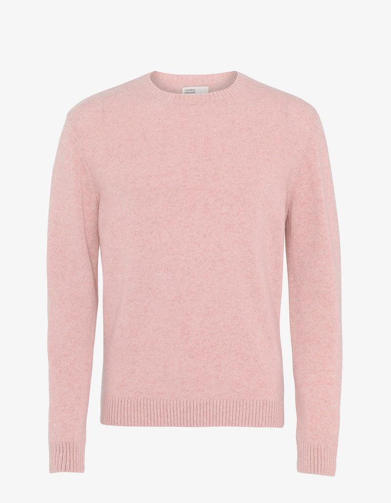 Colorful Standard Classic Merino Wool Crew Sweater Faded Pink